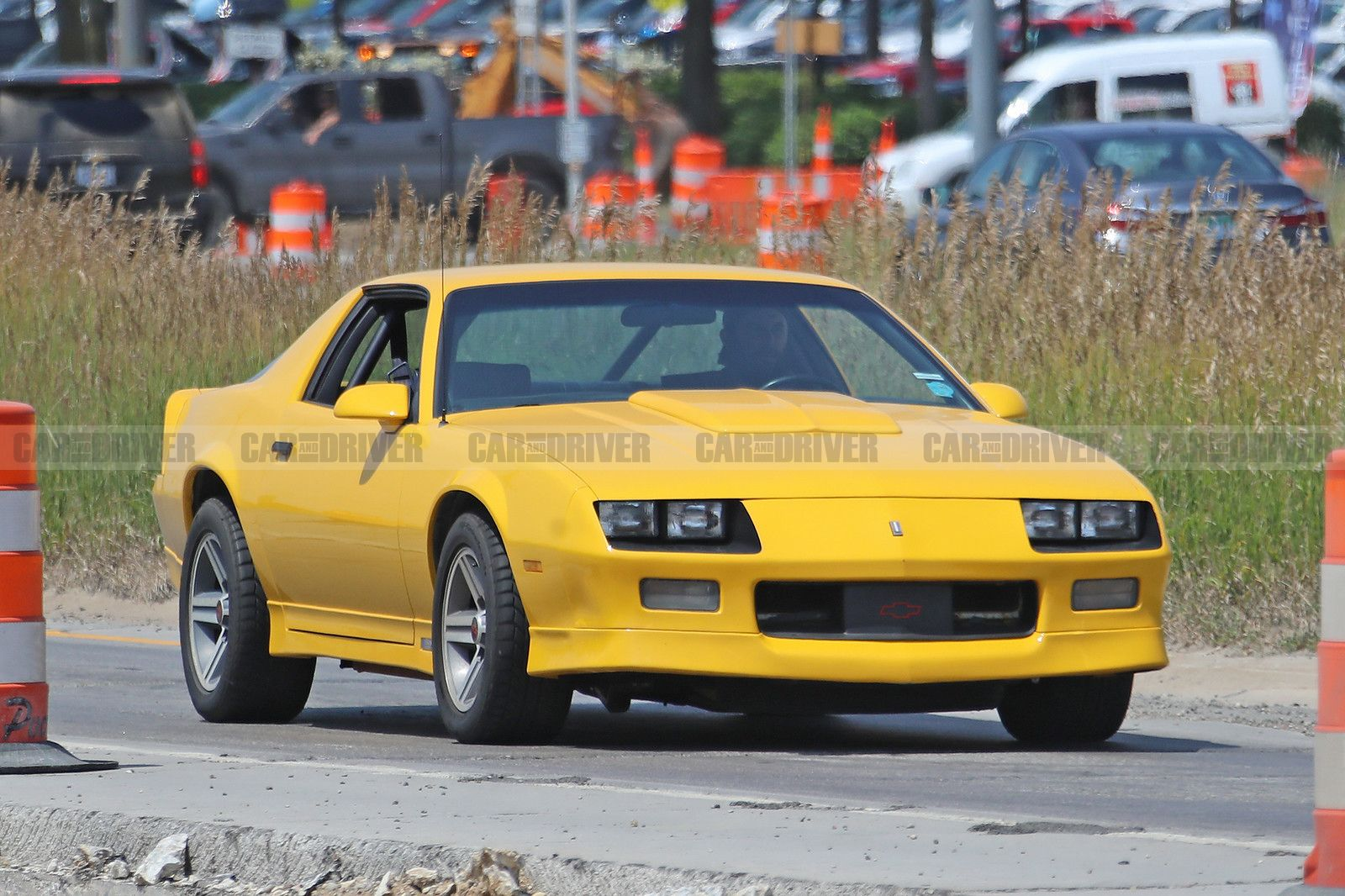 Is This 80s Chevy Camaro Hiding A New Crate Engine