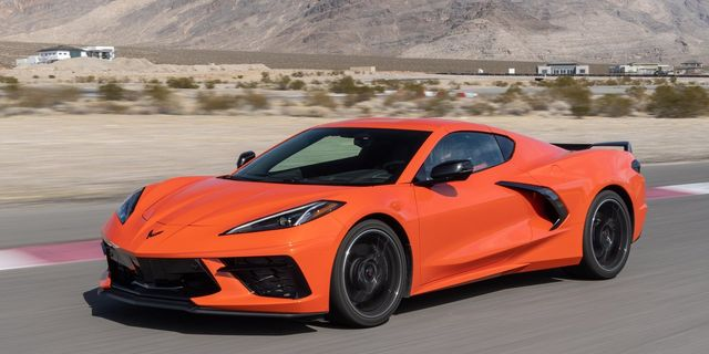 chevy corvette c8 sebring orange