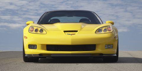 Land vehicle, Vehicle, Car, Automotive design, Sports car, Yellow, Bumper, Motor vehicle, Performance car, Chevrolet corvette c6 zr1,