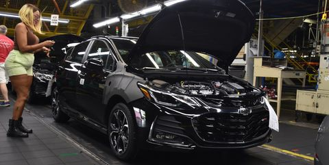 Chevrolet Cruze Lordstown assembly