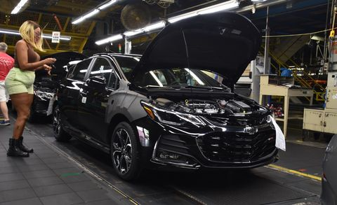 GM Closing Plants — Chevrolet, Cadillac, Buick Models Ending