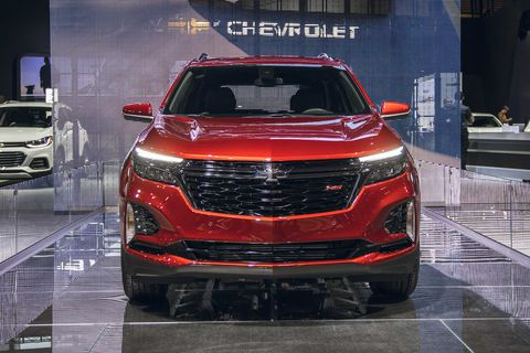 Chevy S Popular Equinox Gets Rs Trim Updated Appearance For 2021