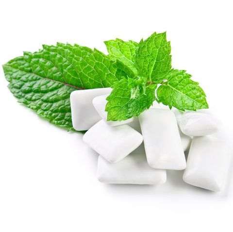 Chewing gum and mint