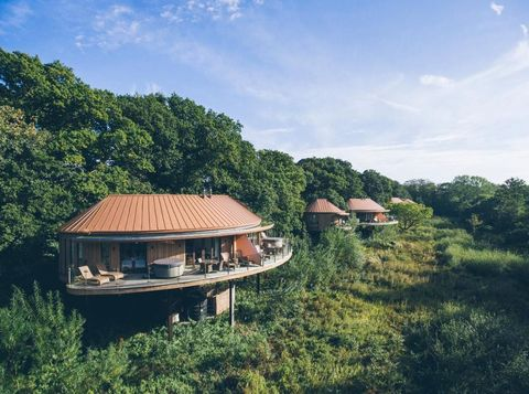 Sky, House, Property, Water, Vegetation, Hill station, Home, Natural environment, Jungle, Wilderness,