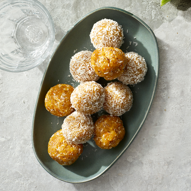 chewy apricot bites