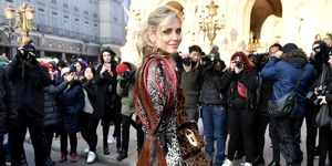 Celebrity Sightings - Paris Fashion Week - Haute Couture Spring Summer 2020 : Day One