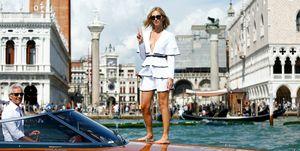 Celebrity Sightings at the 74th Venice Film Festival - September 2, 2017