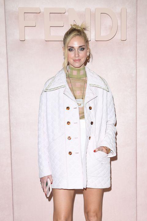 fendi arrivals milan fashion week fallwinter 2020 2021