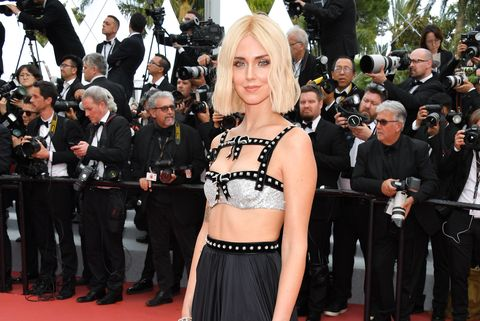 Chiara Ferragni en Cannes.