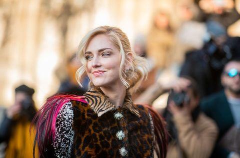 Chiara Ferragni en la Semana de la Moda de París.