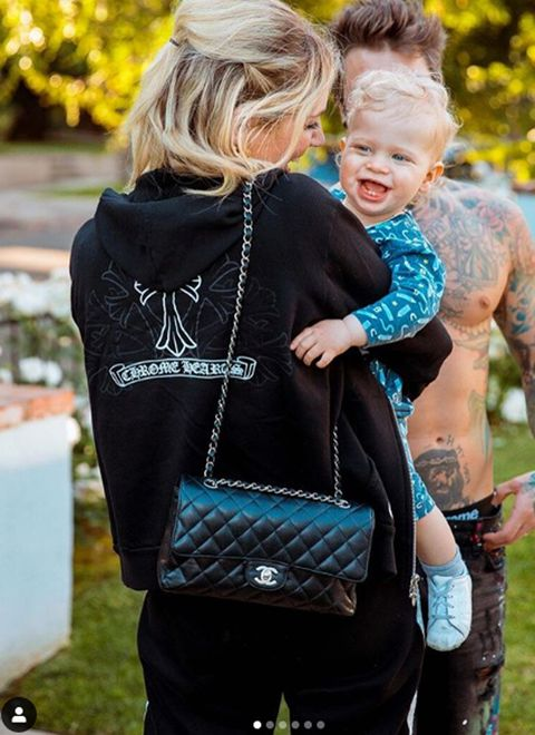 Product, Clothing, Hairstyle, Turquoise, Street fashion, Photography, Diaper bag, Baby Products, Electric blue, Fashion accessory,