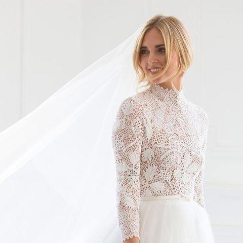 9d236ff83 Se ha inspirado Chiara Ferragni en el vestido de novia de Olivia ...