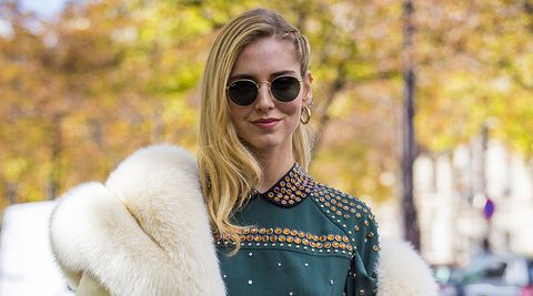 Eyewear, Sunglasses, Hair, Street fashion, Fur, Glasses, Fashion, Blond, Beauty, Lip,