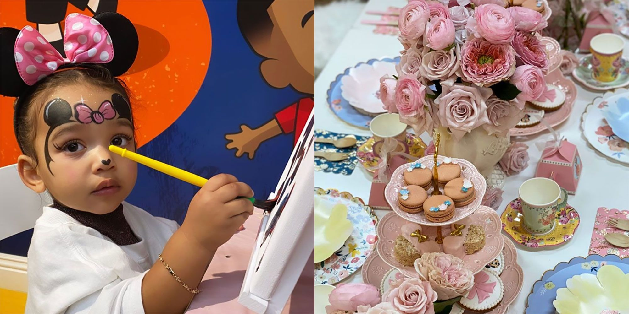 What Chicago West S 2nd Birthday Party Was Like Minnie Mouse