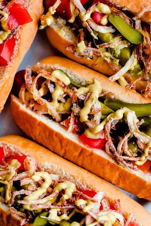 Dish, Food, Cuisine, Ingredient, Fast food, Finger food, Sandwich, Cheesesteak, Produce, Flatbread,