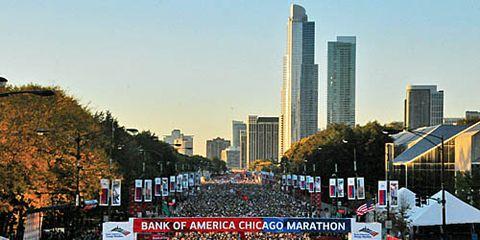 Chicago Marathon 2013 start line