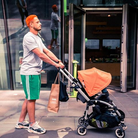 Baby carriage, Product, Baby Products, Walking, Street, Vacation, Travel, Road,