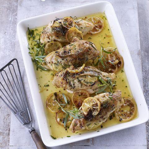 lemon garlic and herbbaked chicken