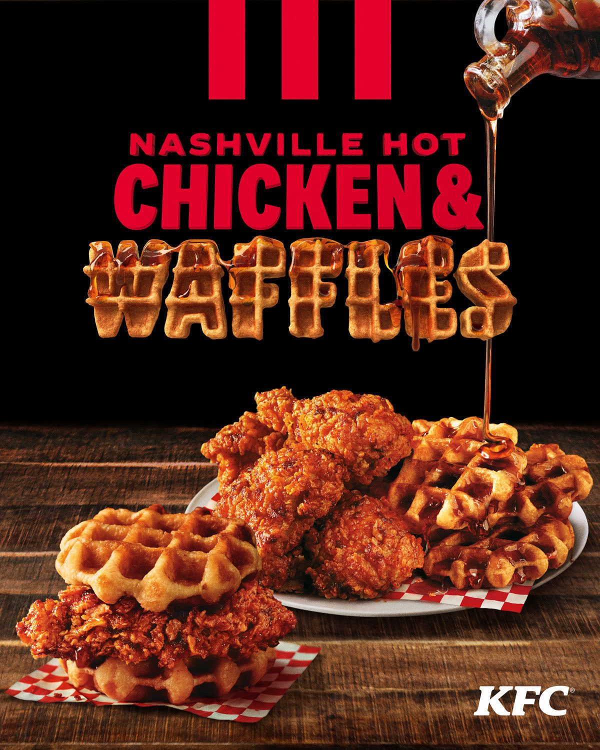 KFC Is Now Making Nashville Hot Chicken And Waffles, And It Sounds Like A Perfect Winter Comfort Food