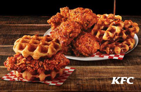 Dish, Cuisine, Food, Ingredient, Fried food, Junk food, Recipe, American food, Produce, Crispy fried chicken,