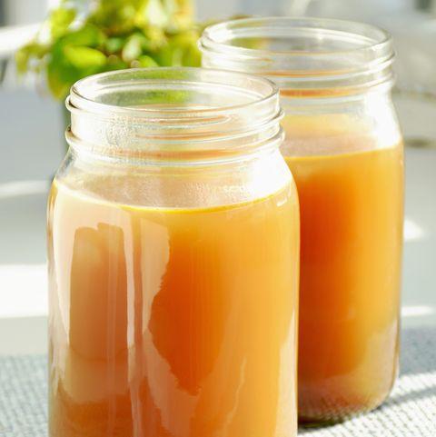 jar of vegetable broth