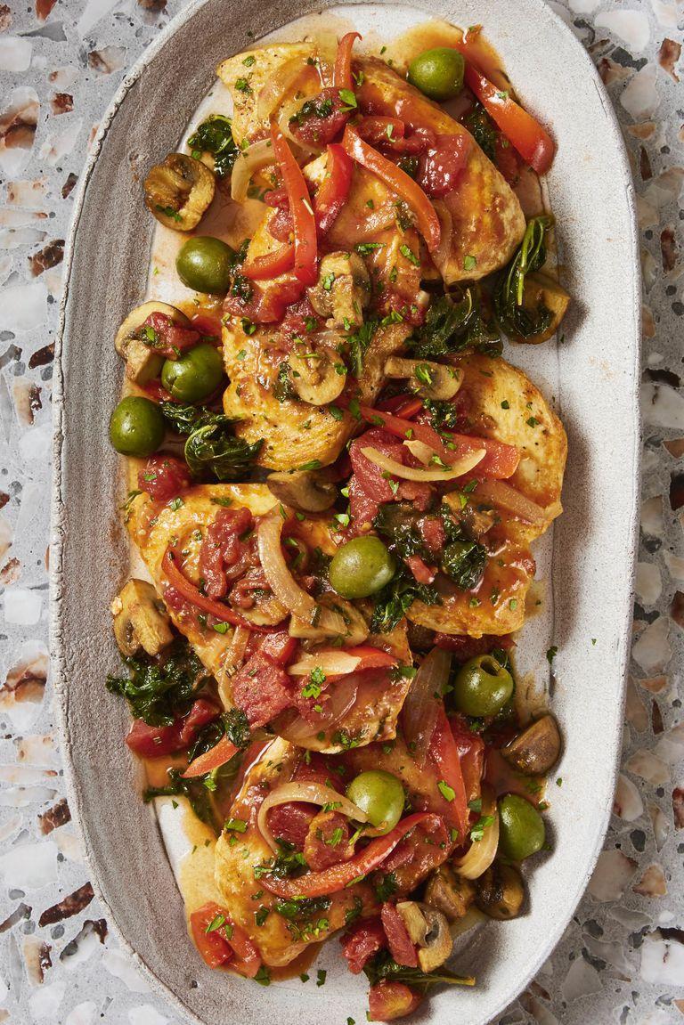 Chicken Cacciatore - Healthy Chicken Dinners
