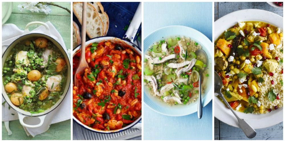 Slow cooker chicken casserole and stew recipes