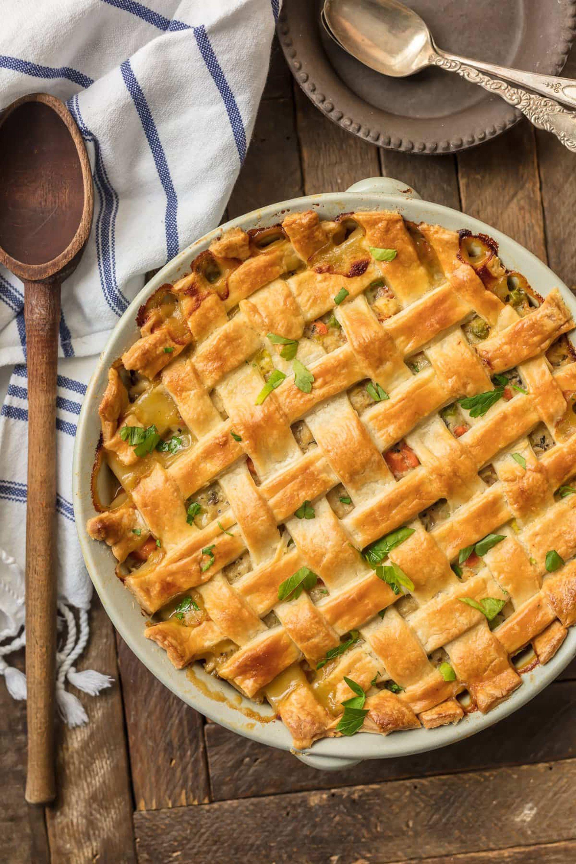 chicken casserole recipes pot pie