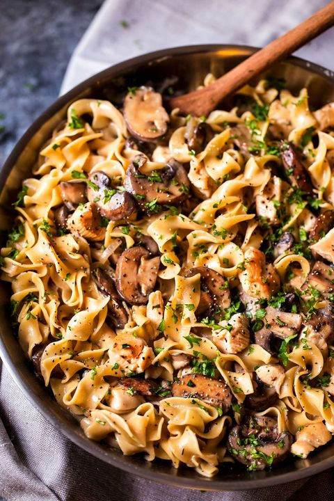 chicken dinner ideas stroganoff