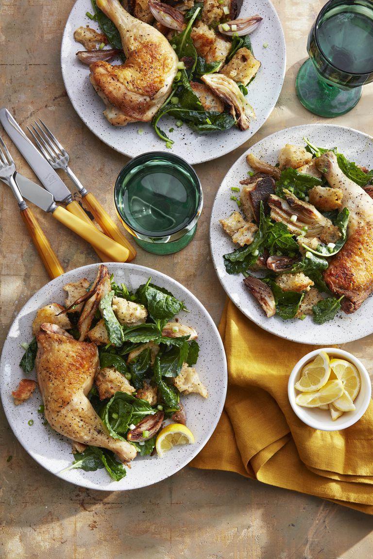 chicken dinners cider