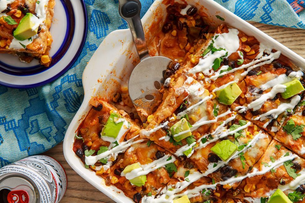 Best Chicken Enchilada Casserole Recipe How To Make Chicken Enchilada Casserole