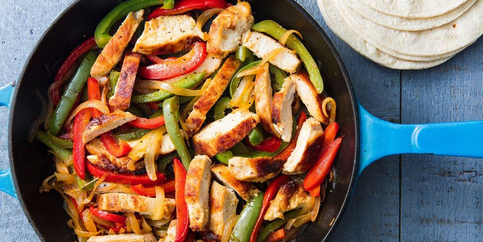Easy Chicken Fajita Recipe How To Make Chicken Fajitas