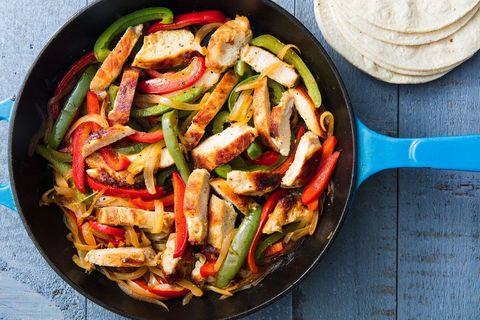 Easy Chicken Fajita Recipe How To Make Chicken Fajitas