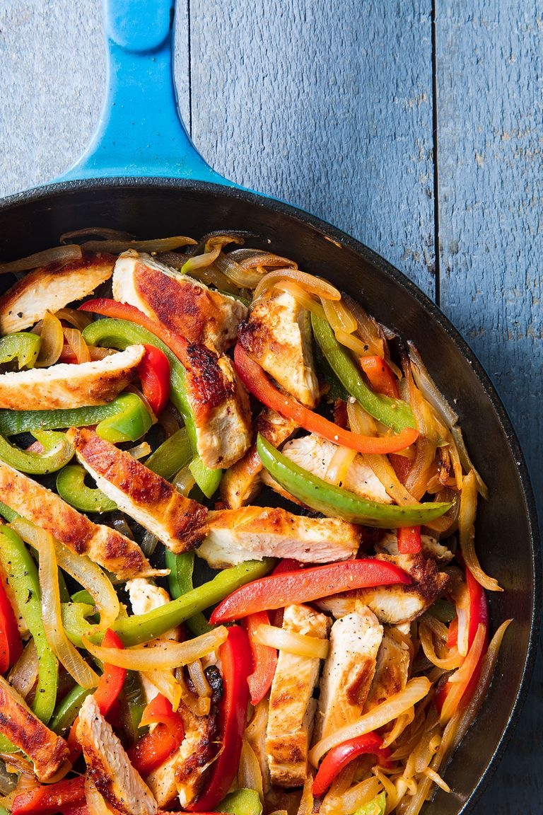 chicken dinner recipes delish cooking easy dinners skillet meals cheap cook quick meal mexican recipe fajitas simple healthy weeknight supper