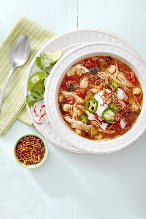 chicken and fideo posole