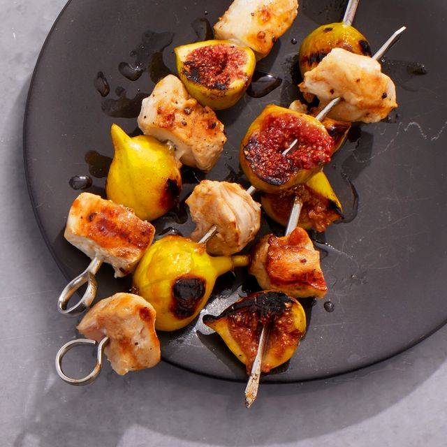 fig and chicken kebabs recipe
