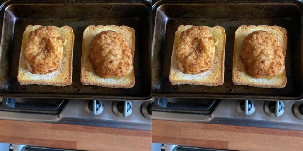 This Genius Came Up With A Chicken Kiev Hack That Gives You Garlic Bread As A Bonus