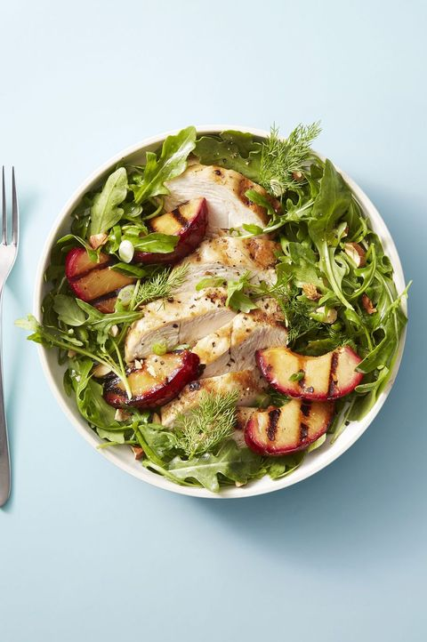 Chicken and Red Plum Salad - Mother's Day Dinner