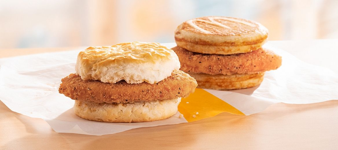 Mcdonald S Has Chicken Mcgriddles And Mcchicken Biscuits For Breakfast