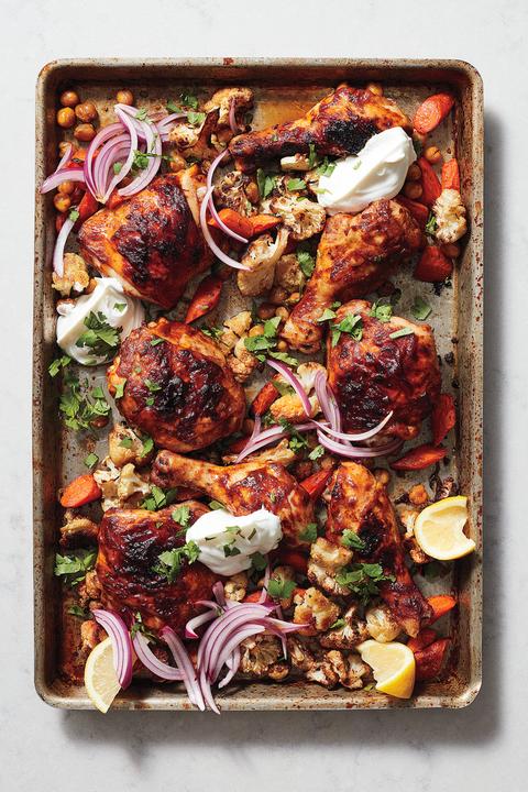 chicken tikka sheet pan recipe