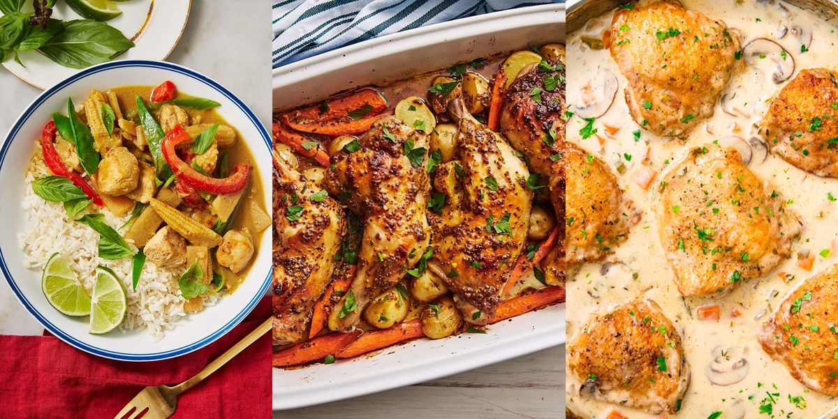 Chicken Weeknight Dinner Recipes That Are Lightning-Fast To Make And Super Delicious