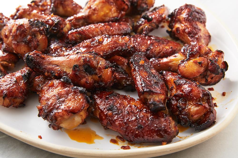Spicy Asian Chicken Wing Marinade