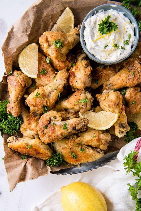 chicken wing recipes lemon pepper