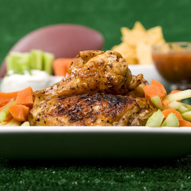 Chicken Wings & Football