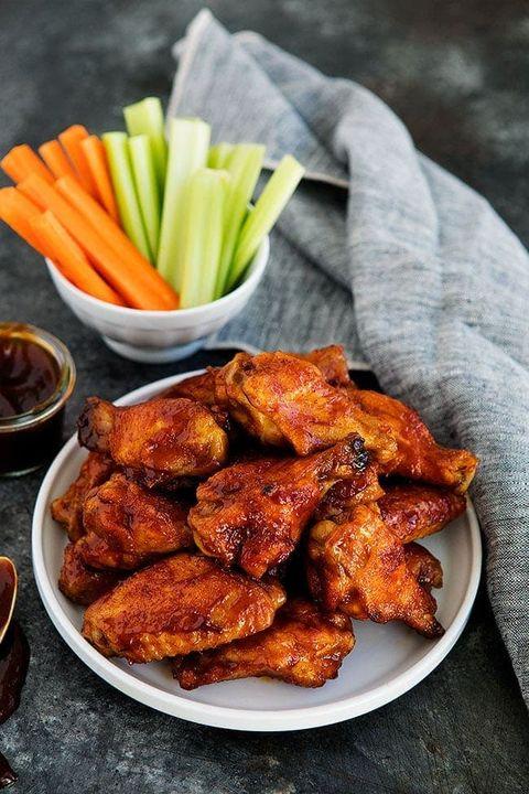 chicken wing recipes honey bbq chicken wings