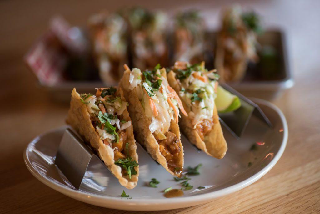 asian applebees rezept tacos menu wonton