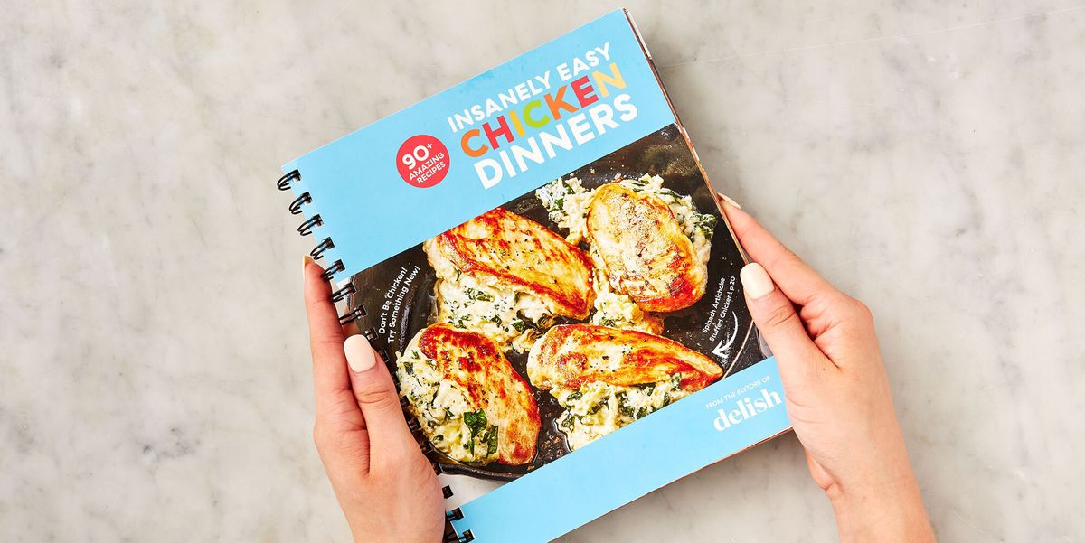 Our Insanely Easy Chicken Dinners Cookbook Is Back In Stock And 20 Percent Off Today ONLY