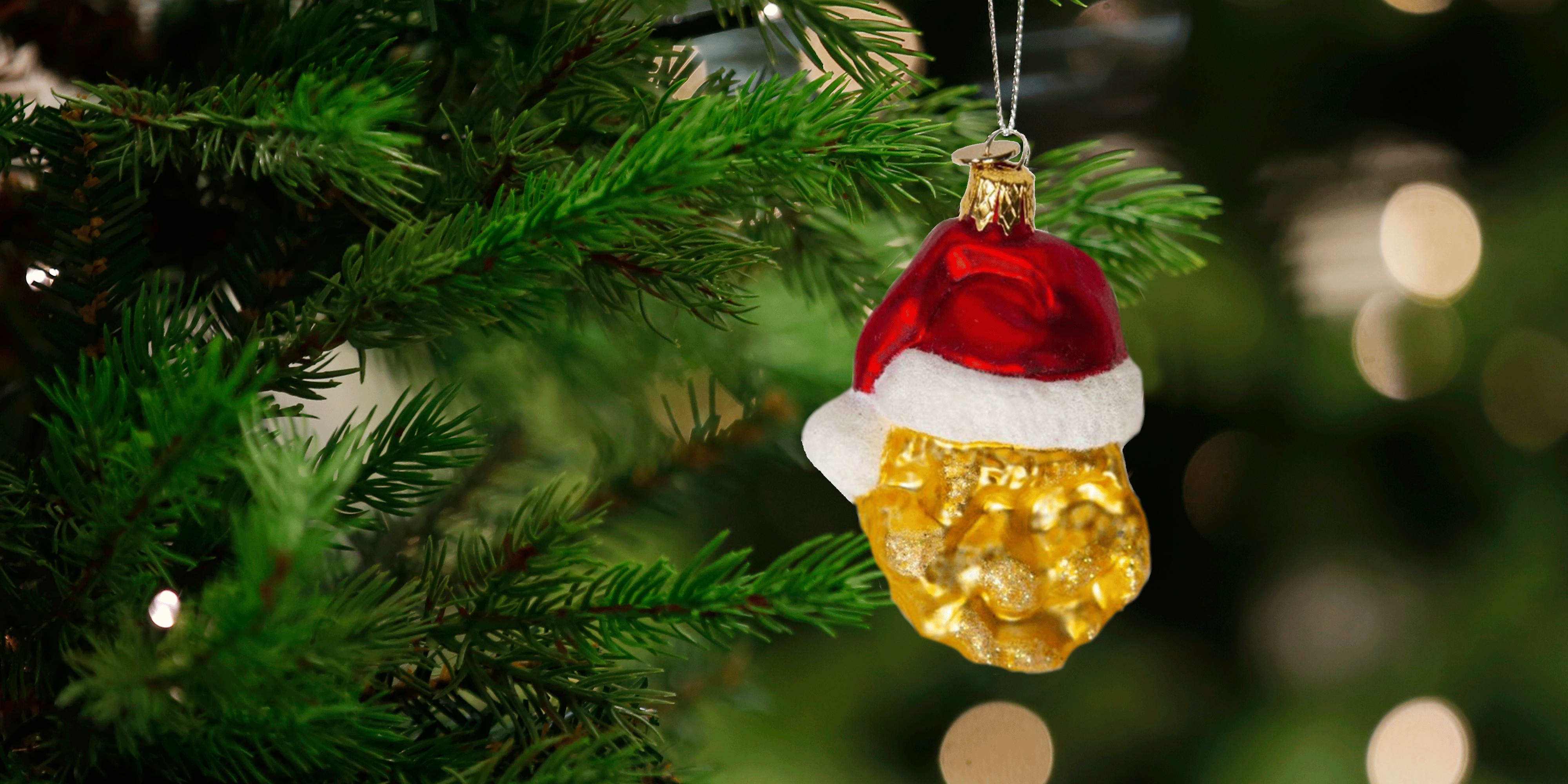 Mcnugget Christmas Ornaments 2020 McDonald's Made Limited Edition Chicken McNugget String Lights For
