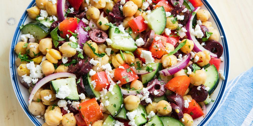 Best Mediterranean Chickpea Salad Recipe - How to Make ...