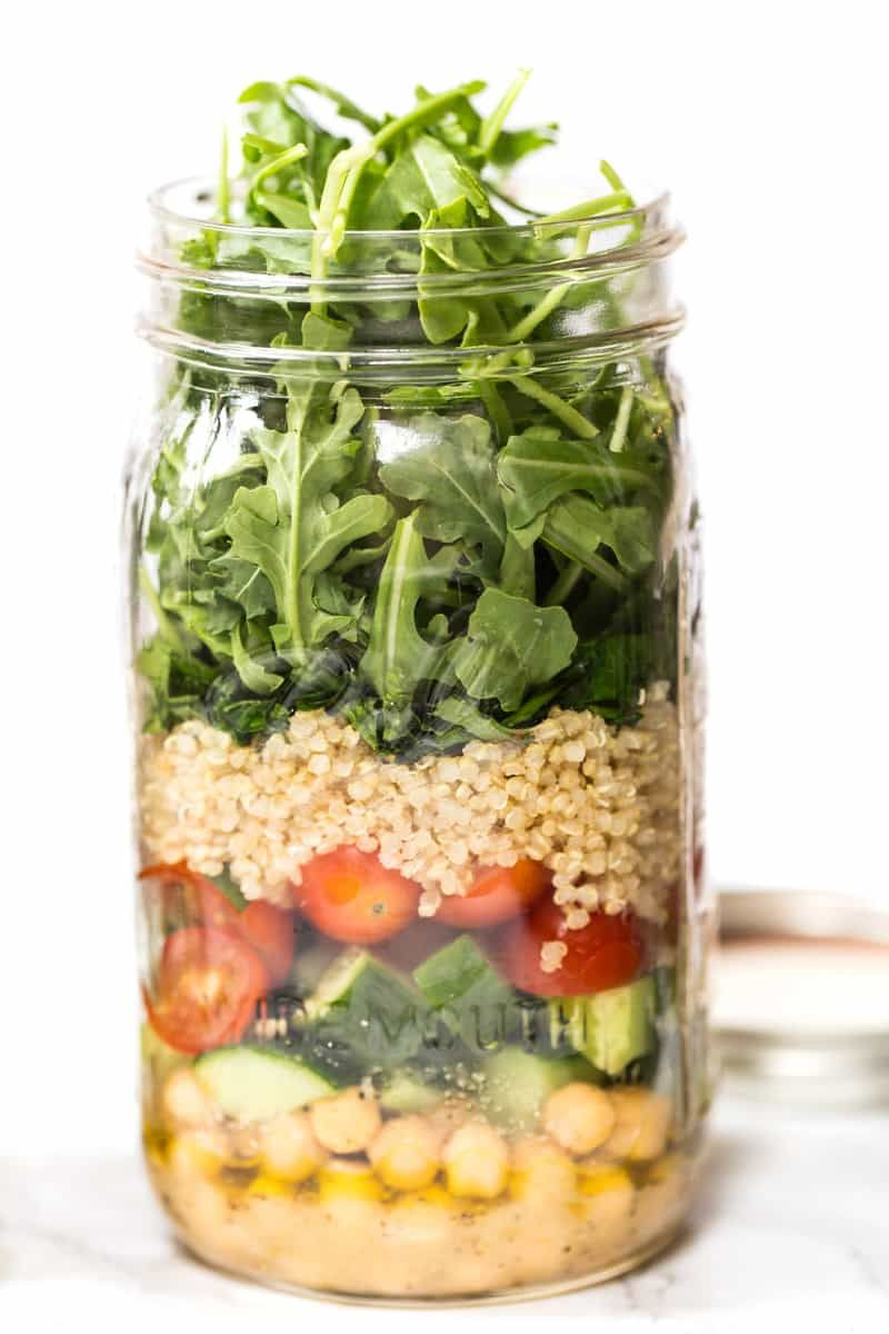 15 Mason Jar Salad Recipes You Can Prep For A Super Healthy Lunch